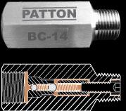 Patton Barrel Check Valve